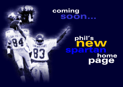 Coming Soon... Phil's new Spartan home page